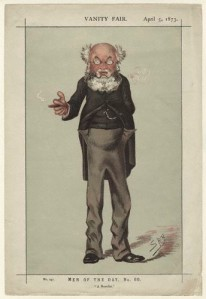 """Anthony Trollope Vanity Fair 5 April 1873"" by Leslie Ward - Published in Vanity Fair, 5 April 1873.Downloaded from http://www.npg.org.uk/collections/search/largerimage.php?mkey=mw136861&LinkID=mp04701. Licensed under Public Domain via Commons - https://commons.wikimedia.org/wiki/File:Anthony_Trollope_Vanity_Fair_5_April_1873.jpg#/media/File:Anthony_Trollope_Vanity_Fair_5_April_1873.jpg"